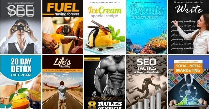30 kindle ecover graphics for sale