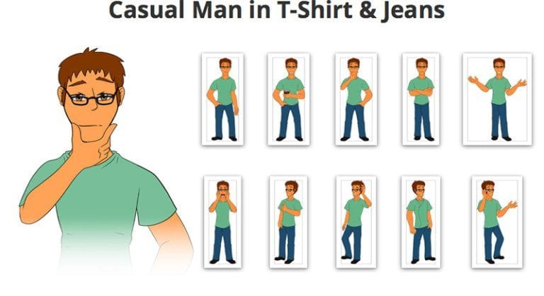 Casual-Man-2-SVG-Preview