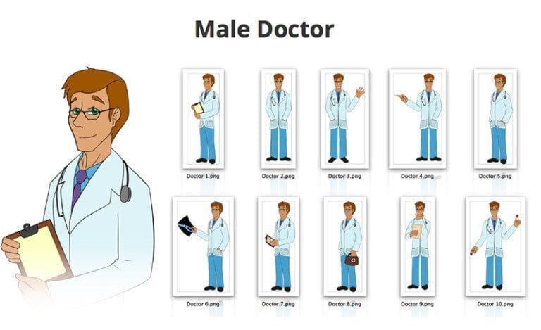 Male-Doctor-SVG-Preview