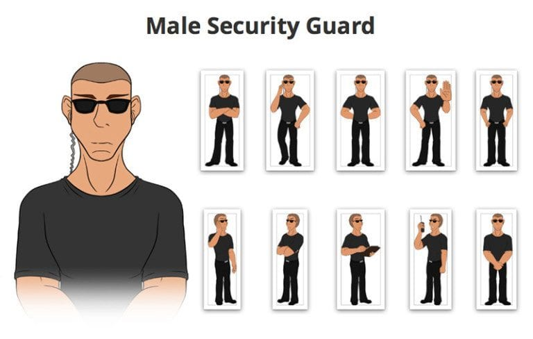 Male-Security-SVG-Preview