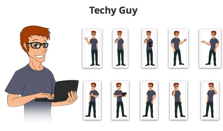 Techy-Guy-SVG-Preview