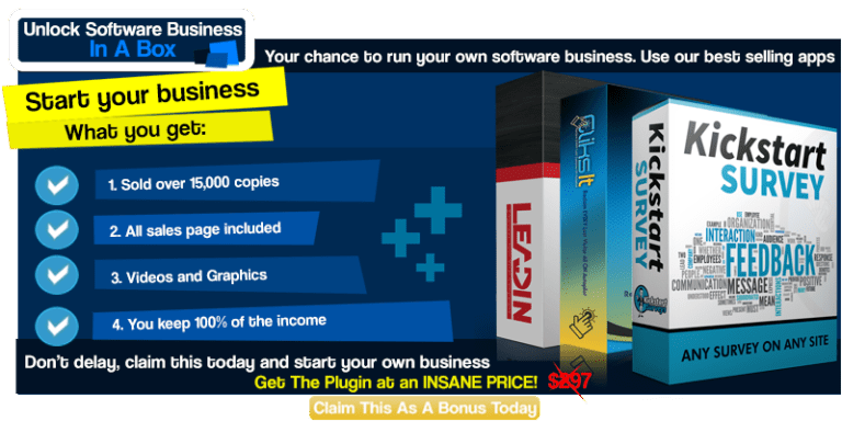 Software Business in a Box